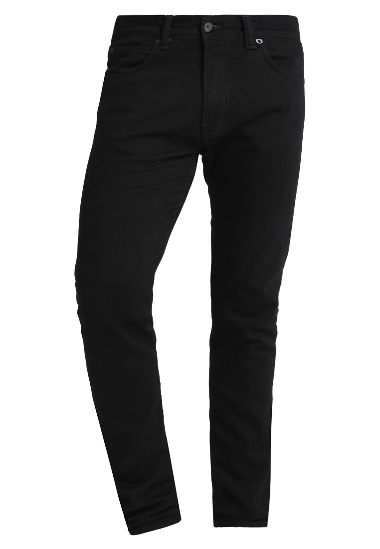 Edwin ED-85 DROP CROTCH - Jeans slim fit - rinsed power black denim