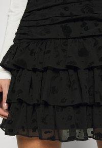 NIKKIE - SYA SKIRT - Mini skirt - black - 3