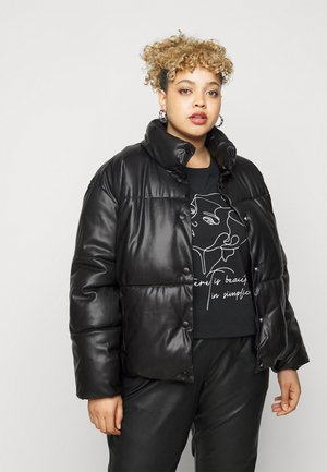 VMEMILY COATED JACKET - Winter jacket - black