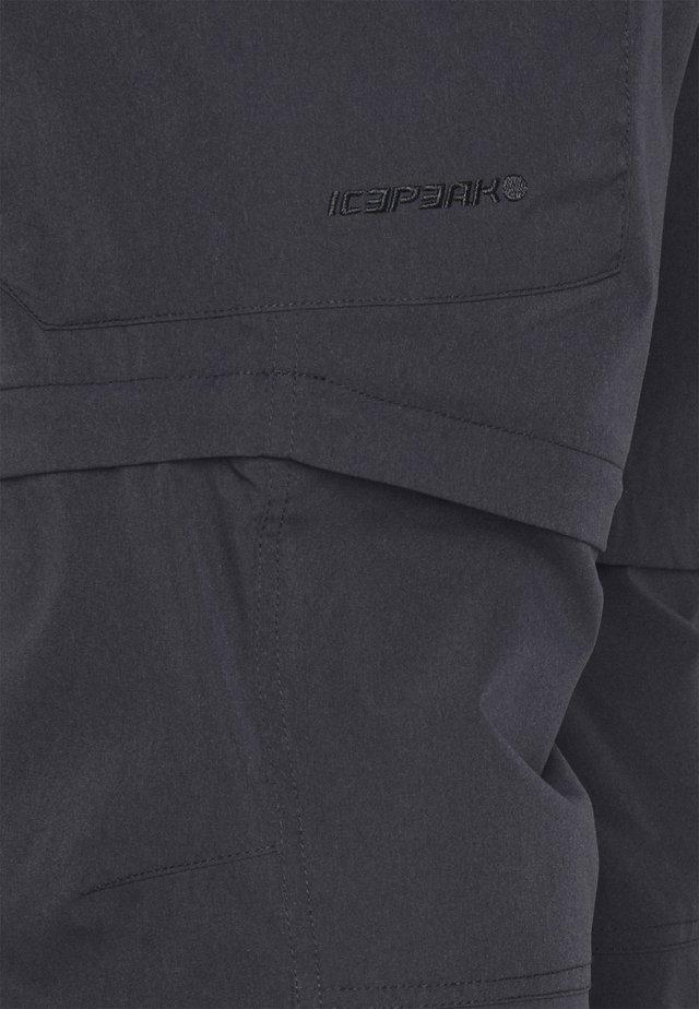 BRAIDWOOD - Pantalon classique - anthracite