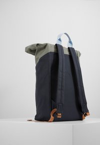 Sandqvist - DANTE HOOK - Rucksack - light green/dark blue - 1
