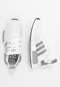 adidas Originals - NMD_R1 - Matalavartiset tennarit - footwear white/grey three/core black - 1