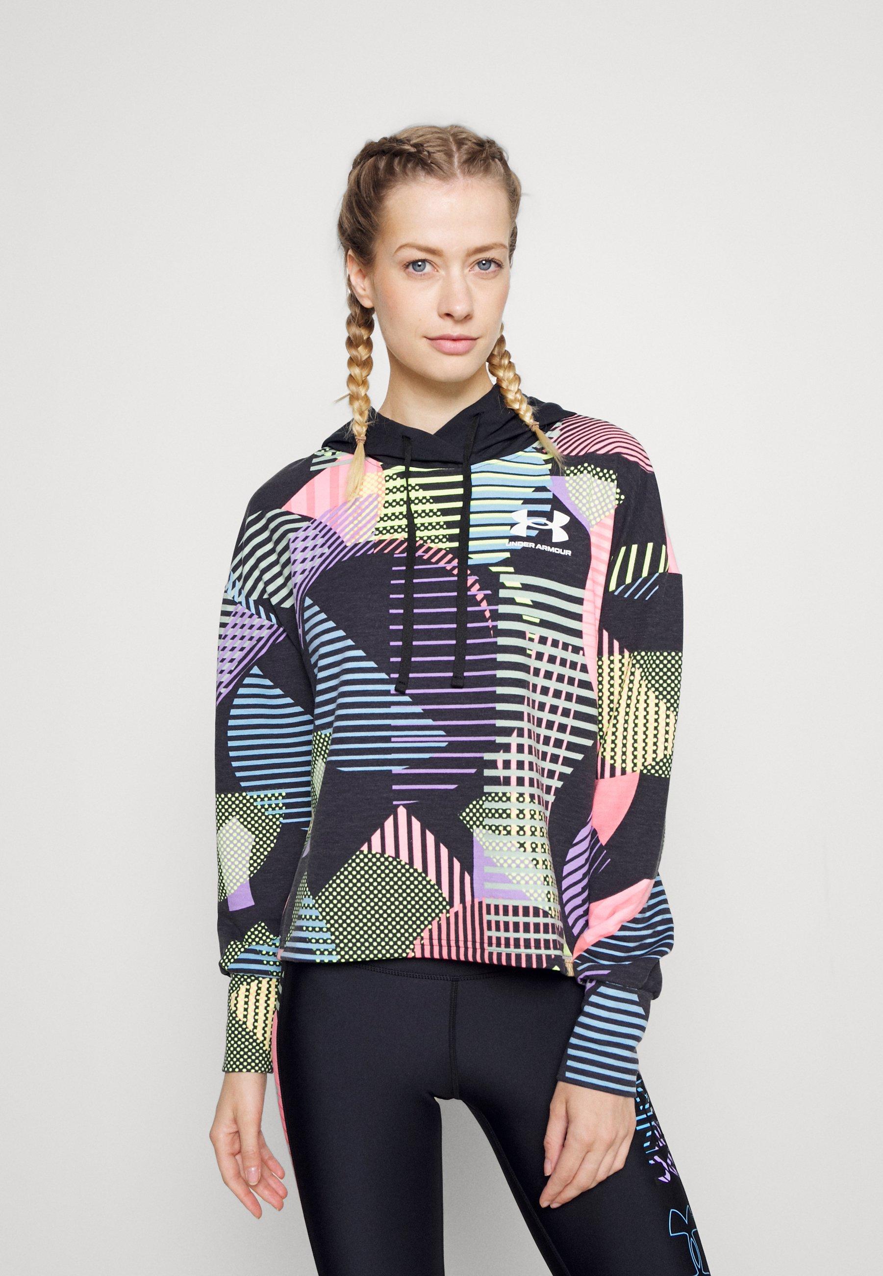 Women RIVAL GEO PRINT HOODIE - Sweatshirt