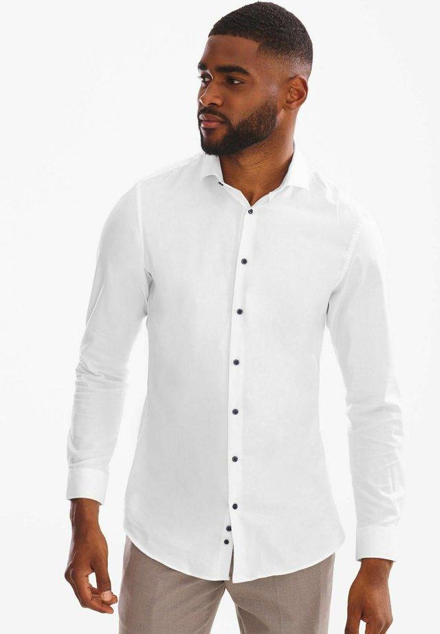Zakelijk overhemd - weiß