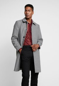 Topman - DOGTOOTH  - Cappotto classico - black/white - 0