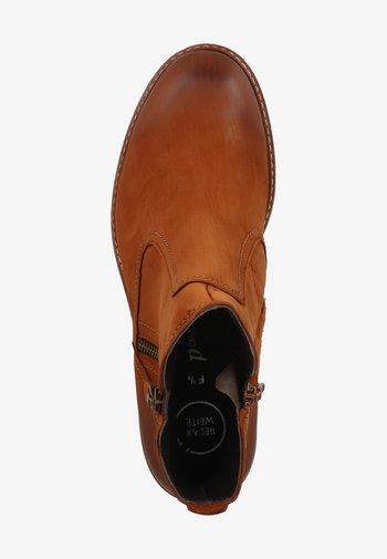 Classic ankle boots - cognac-braun 017