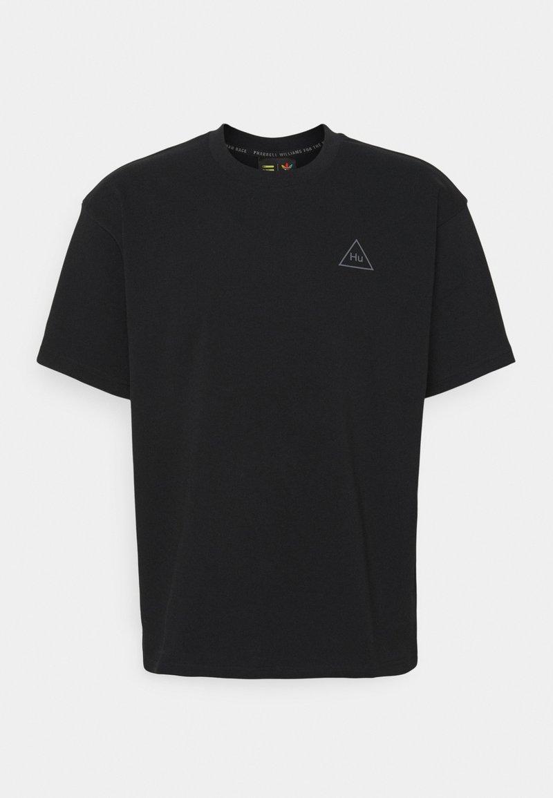 adidas Originals - PHARRELL  BF TEE UNISEX - T-shirt con stampa - black