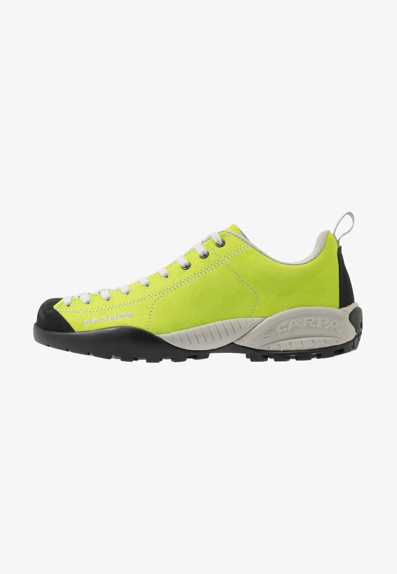 Scarpa - MOJITO UNISEX - Zapatillas de senderismo - green fluo