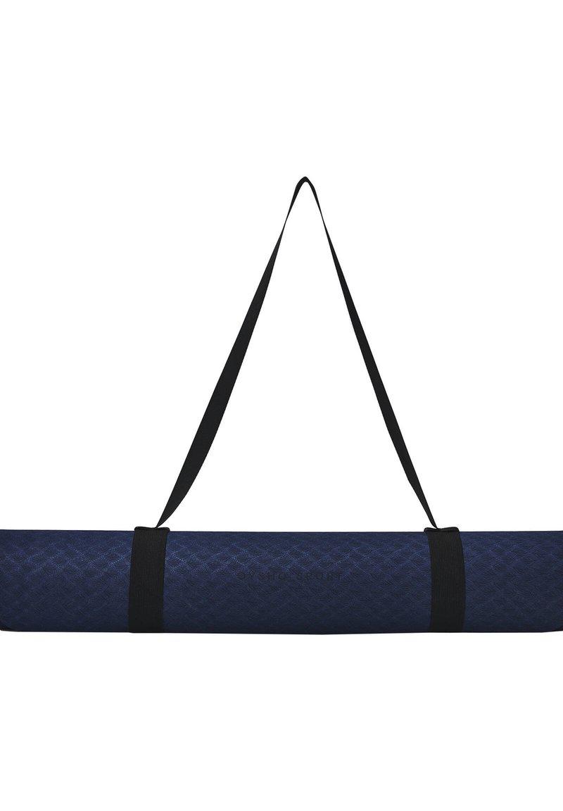 OYSHO - 5MM YOGA MAT - Fitness / Yoga - dark blue