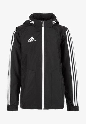 TIRO 19 - Regnjakke / vandafvisende jakker - black / white