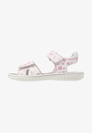 SPARKLE - Sandals - weiß