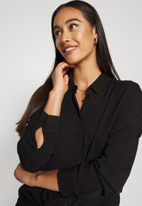 Object - OBJBAYA - Button-down blouse - black - 4