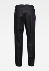 G-Star - VARVE RELAXED PLEATED - Trousers - dark blue - 1