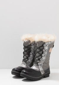 Sorel - YOUTH TOFINO II FOIL - Botas para la nieve - quarry/natural tan - 2