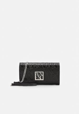 WALLET ON CHAIN WOMAN'S WALLET ON CHAIN - Portfel - nero