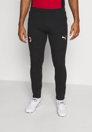 AC MAILAND EVOSTRIPE PANTS - Club wear - black/tango red