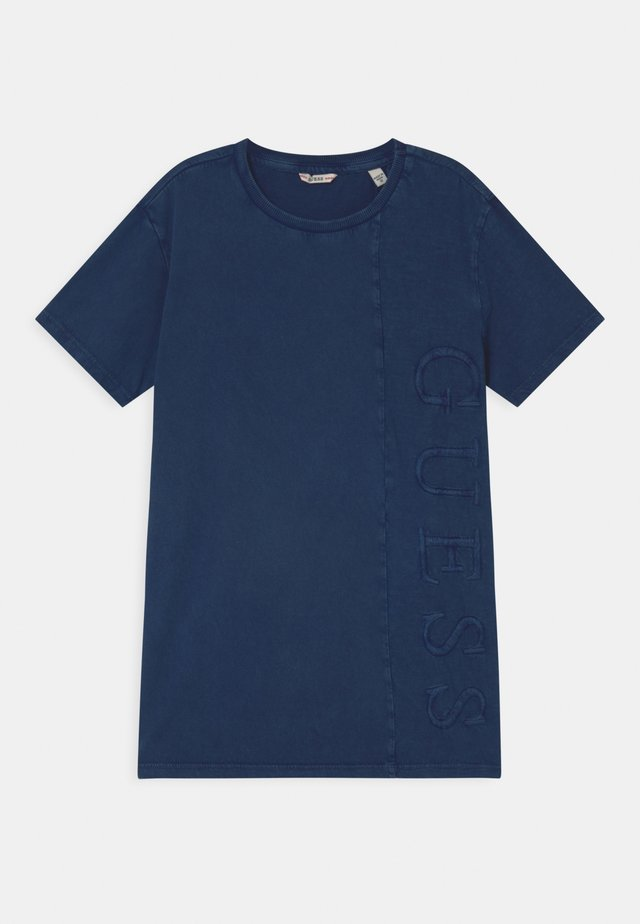 JUNIOR DYE  - T-shirt print - bleu/deck blue