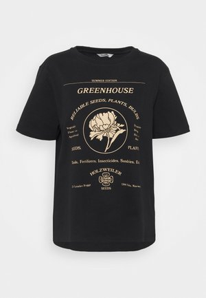 KJERAG TEE  - Print T-shirt - black