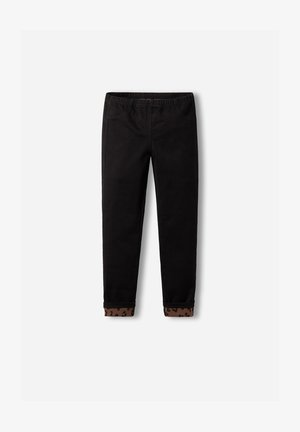 Leggings - Trousers - schwarz - black denim
