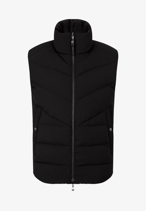 WEND ARON - Waistcoat - schwarz