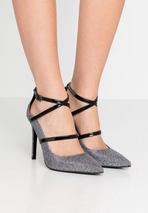 GENEVA - High heels - gunmetal
