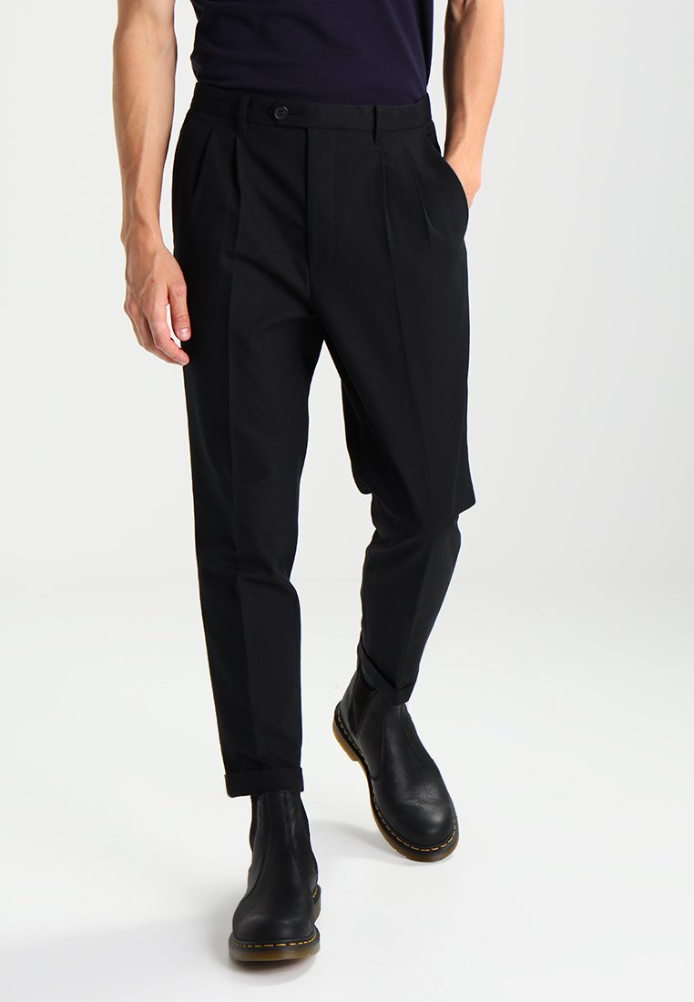 AllSaints - TALLIS - Trousers - black