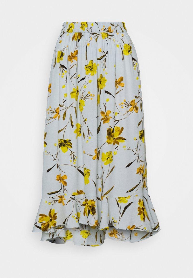 PIECES Tall - PCLILLIAN SKIRT - Maxi skirt - plein air