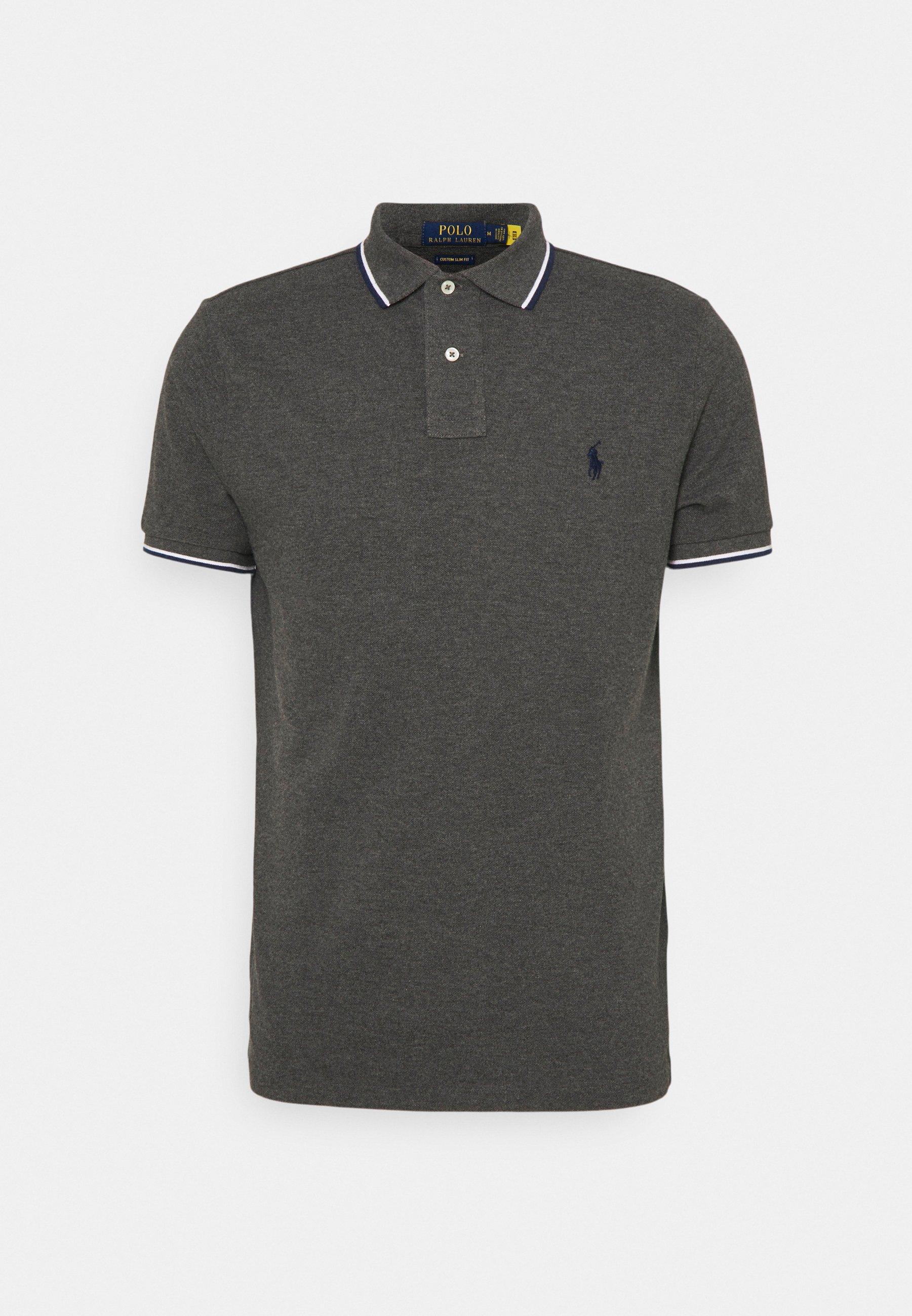 Men CUSTOM SLIM FIT MESH POLO SHIRT - Polo shirt