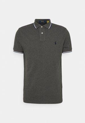 CUSTOM SLIM FIT MESH POLO SHIRT - Polo shirt - barclay heather