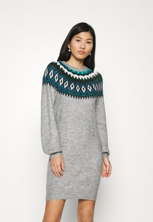 Shift dress - gris clair
