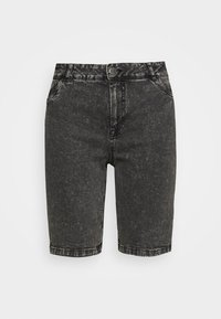 JALBA HIGH WAIST - Shorts vaqueros - grey denim