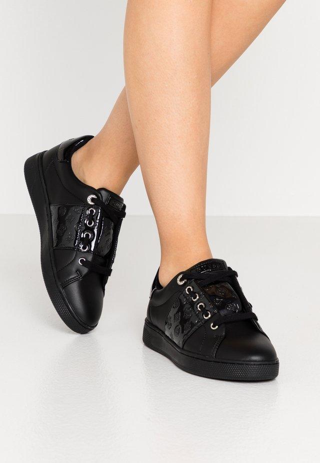 REJEENA - Baskets basses - black