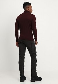G-Star - ROVIC ZIP 3D STRAIGHT TAPERED - Cargo trousers - raven - 2