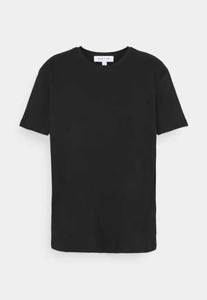 BASIC OVERSIZED - T-shirts - black