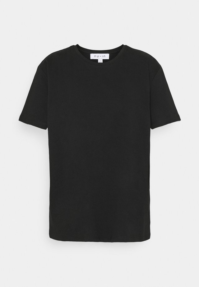 BASIC OVERSIZED - T-paita - black