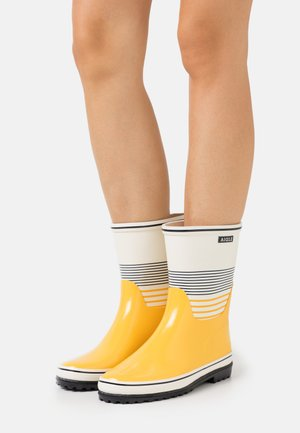 VENISE BOTT BLOCK - Wellies - marinére