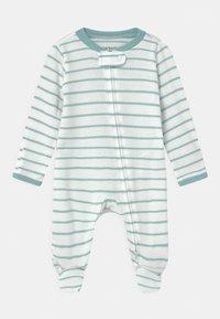 Carter's - 2 PACK UNISEX - Sleep suit - light blue/white - 2