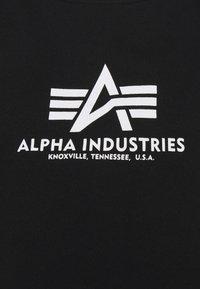 Alpha Industries - BOXY - Print T-shirt - black - 7