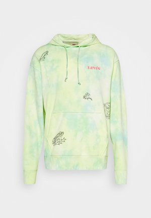 RELAXED GRAPHIC UNISEX - Collegepaita - yellow/multicoloured