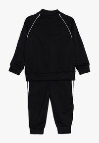 adidas Originals - SUPERSTAR SET - Zip-up hoodie - black/white - 1