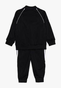 adidas Originals - SUPERSTAR SET - veste en sweat zippée - black/white - 1