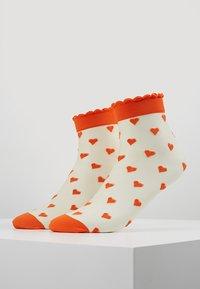 Becksöndergaard - DAGMAR HEARTS SOCK 2 PACK - Socken - orange - 0