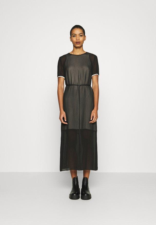 GEORGETTE DRESS - Day dress - ck black