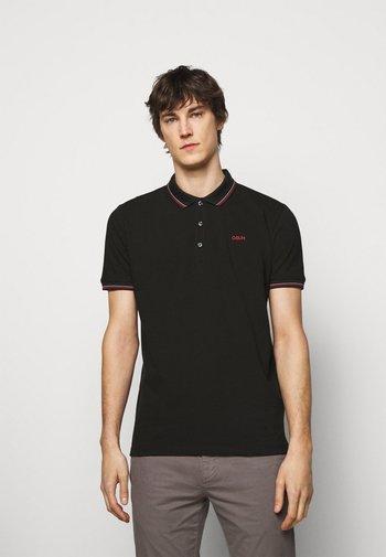 DINOSO - Polo shirt - black