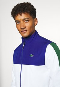 Lacoste Sport - TENNIS TRACKSUIT - Survêtement - cosmic/white/green - 5