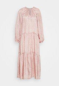 DRESS - Maxi dress - orange dusty light