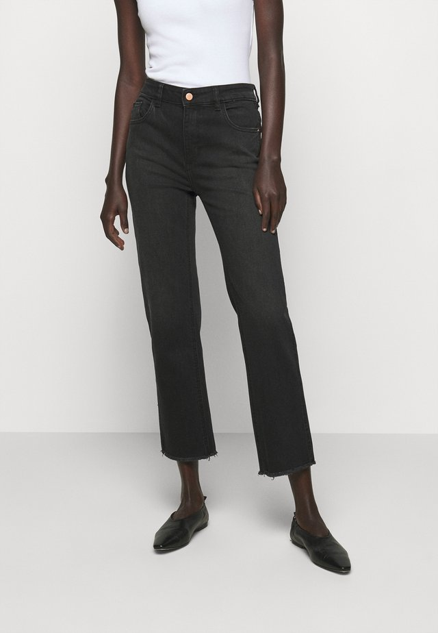 PATTI HIGH RISE STRAIGHT - Bootcut jeans - corvus