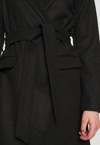 JDY - JDYOVIDA LONG HOOD JACKET - Short coat - black - 5