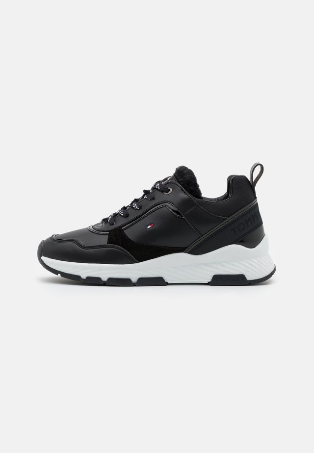 SPORTY CHUNKY WARM  - Trainers - black