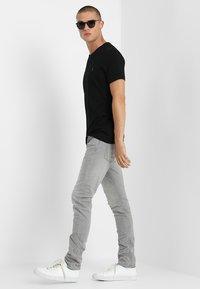 AllSaints - TONIC V-NECK - Basic T-shirt - jet black - 1